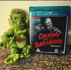Creature from the Black Lagoon plush and BluRay