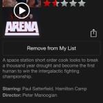 Arena bio on Netflix