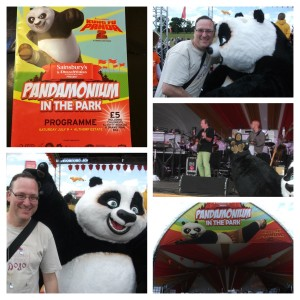 Images from Sainsburys Kung Fu Panda Day