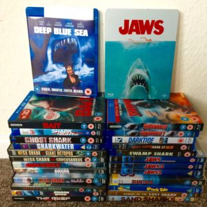 Shark films on DVD and BluRay