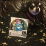 Chihuahua with Money Monster BluRay