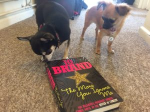 Chihuahuas with Jo Brand book