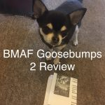 Chihuahua with Goosebumps 2 cinema ticket