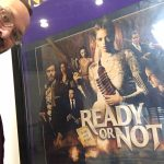 Bill with Ready or Not poster