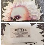 Tim Burton's Beeltejuice film ticket