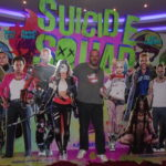 BMAF Bill with the Suicide Squad promotional stand