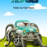 Chihuahua promoting Monster Trucks Movie