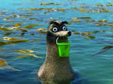 Gerald a sea lion from Finding Dory