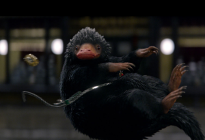 A Niffler from Fantastic Beasts