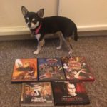 Chihuahua with DVD & CDs of Film Musicals
