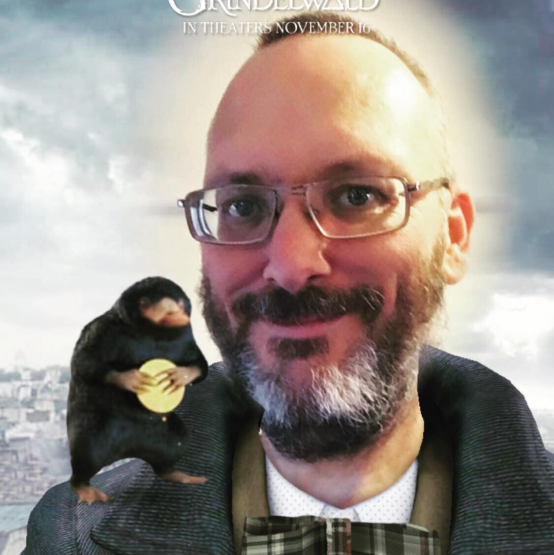 BMAF Bill with a Niffler using the Snapchat filter