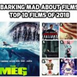 Top 10 Films of 2018