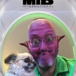 Ted and I have fun with the MiB filter